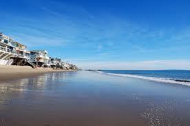 пляж в Малибу