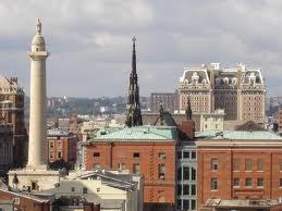 Вид на монумент Вашингтону
