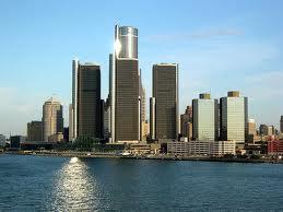 города Мичигана - Детройт