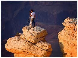 вид сверху на Большой Каньон штат Аризона
