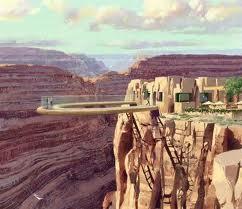 Небесная тропа в Большом каньоне