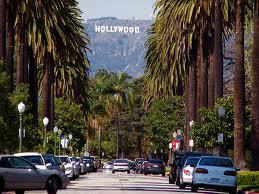 вид на холмы Голливуда