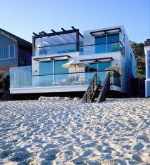 дом на пляже Малибу