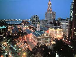 Бостон вечером