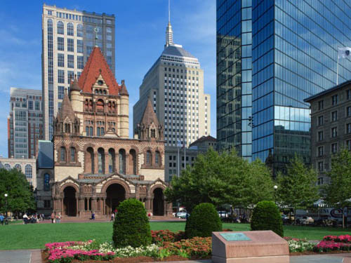 церковь Троицы Бостон США