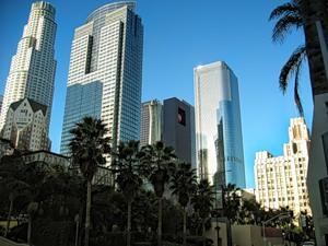 небоскребы Лос-Анджелеса