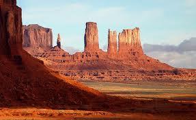 вид на долину Монументов