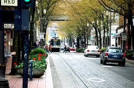 Трамвай в Портленде