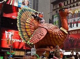 Парад в Нью-Йорке в День Благодарения
