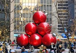 нью-йорк в Рождество