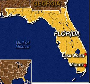 Где находится Майами