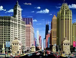 Город Чикаго. Великолепная Миля.
