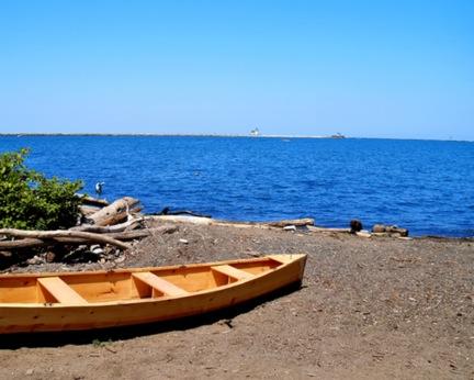 берег озера Эри