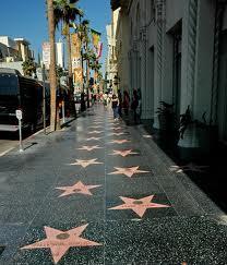 Аллея звезд в Голливуде