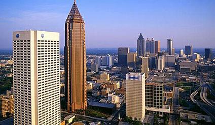 США, город Атланта
