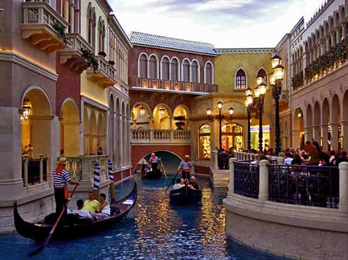 Венеция в Лас-Вегасе
