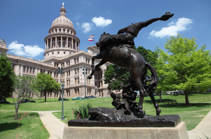 Здание Капитолия в Техасе