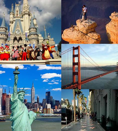 Знаменитые места в Америке