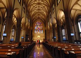 Соборы Нью-Йорка - церковь Троицы