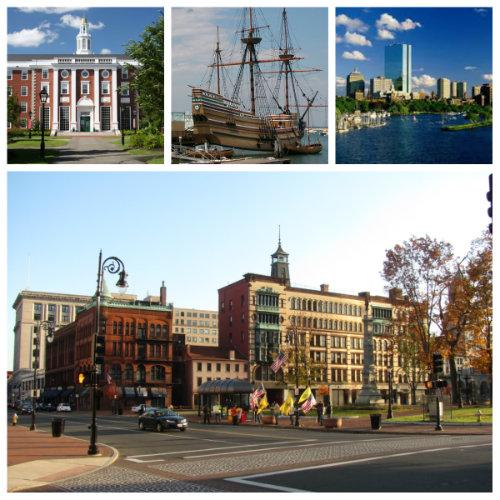 Города Массачусетса