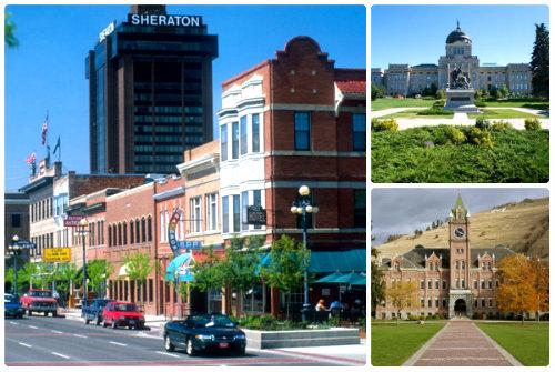 Города штата Монтана