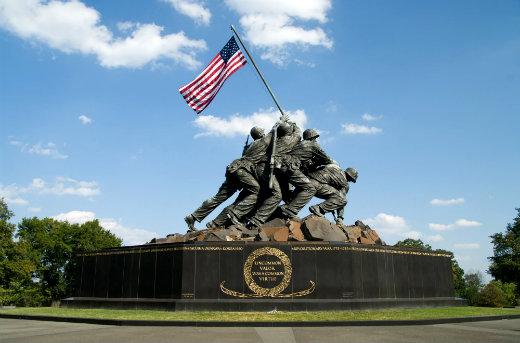 Мемориал корпуса морской пехоты США-2