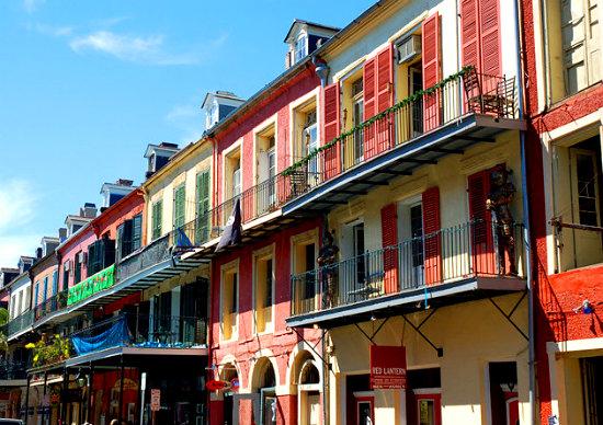 Французский квартал в Новом Орлеане-2