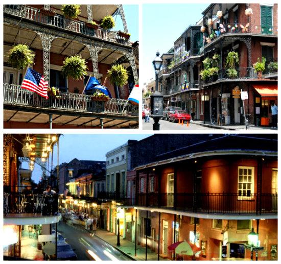 Французский квартал в Новом Орлеане-3