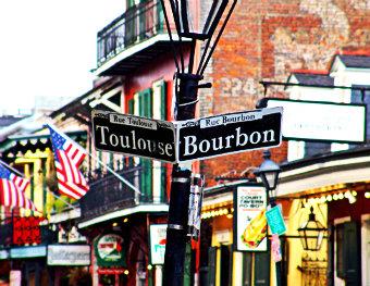 Французский квартал в Новом Орлеане