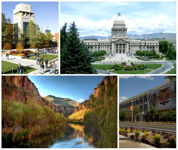 Штат Айдахо коллаж