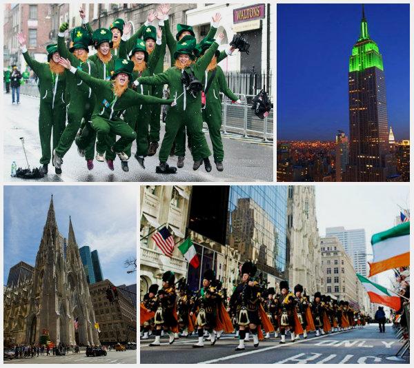 День Святого Патрика Нью-Йорк
