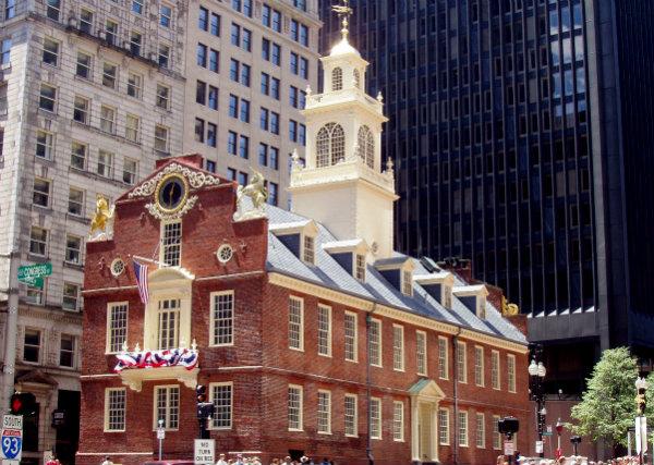 Массачусетс США Бостон