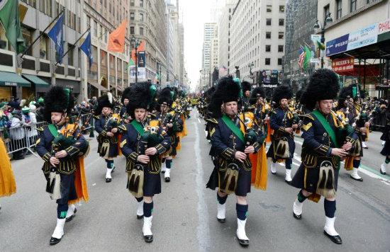 Парад День Святого Патрика