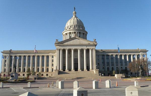 Капитолий к Оклахома-Сити